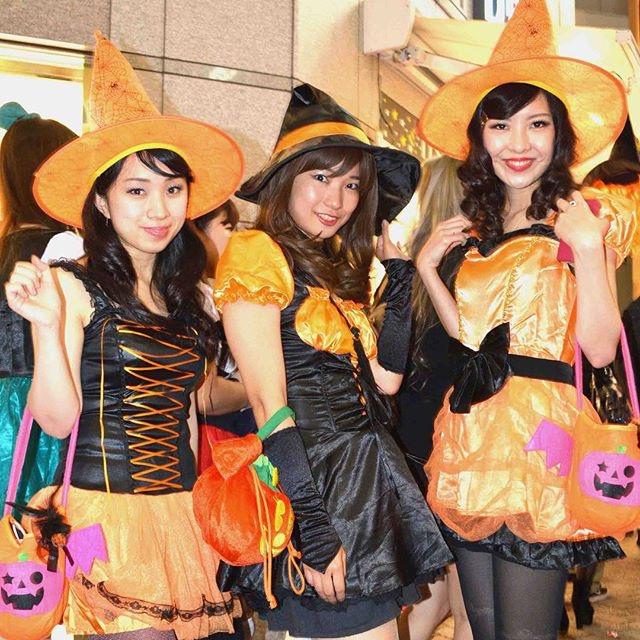 【ハロウィンコスプレ画像】渋谷に集まるギャル達の凝った様々な衣装がエロい! 79