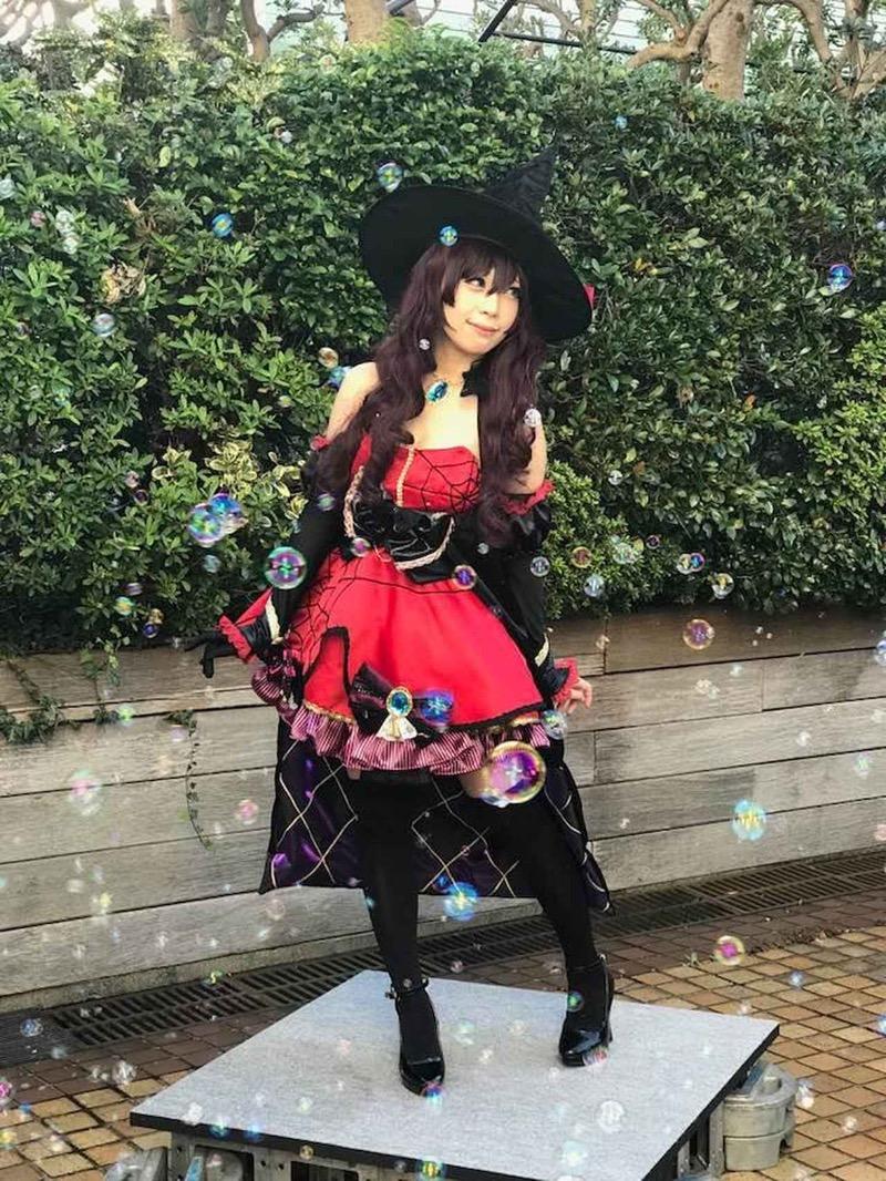 【ハロウィンコスプレ画像】池袋のイベントに参加する可愛いアニメコスプレイヤー 09