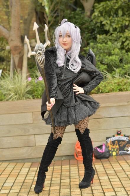 【ハロウィンコスプレ画像】池袋のイベントに参加する可愛いアニメコスプレイヤー 34