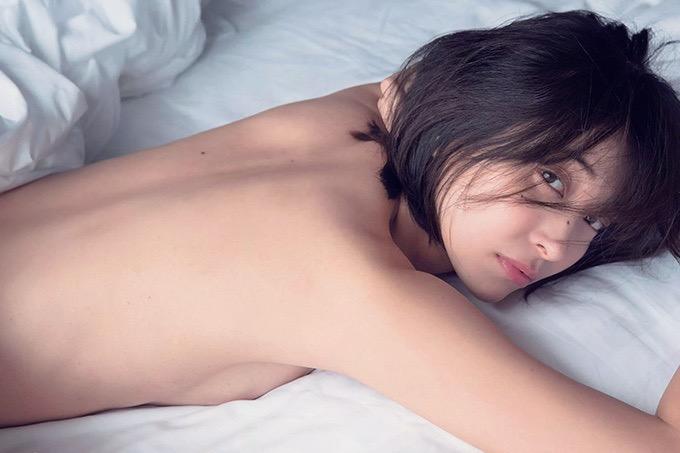 【山崎真実グラビア画像】30歳を超えて増々過激になっていく美女のセミヌード画像 53