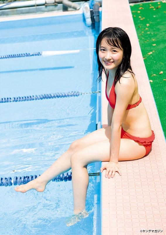 【アイドルグラビア画像】モーニング娘。メンバー達のちょっとエッチな水着姿 12