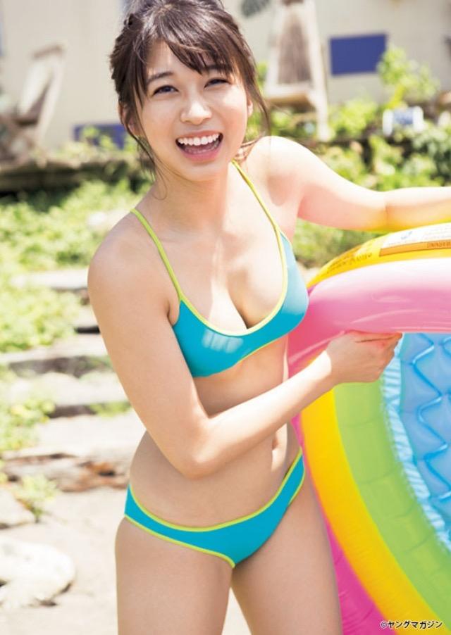 【アイドルグラビア画像】モーニング娘。メンバー達のちょっとエッチな水着姿 42