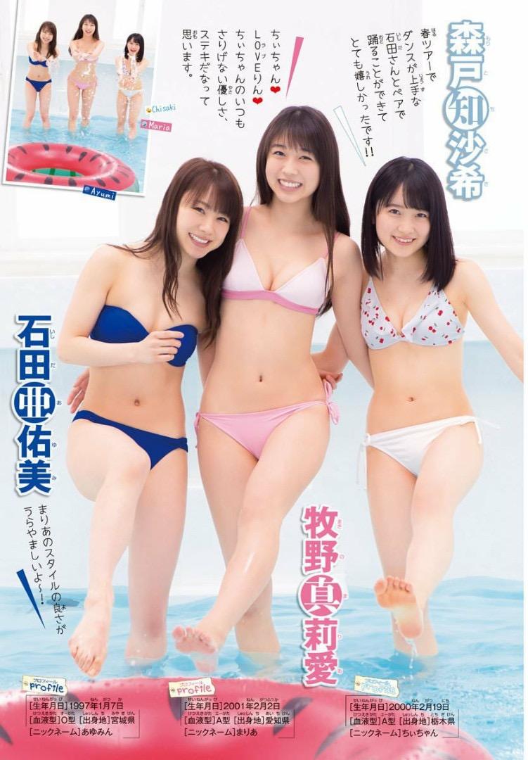 【アイドルグラビア画像】モーニング娘。メンバー達のちょっとエッチな水着姿 70
