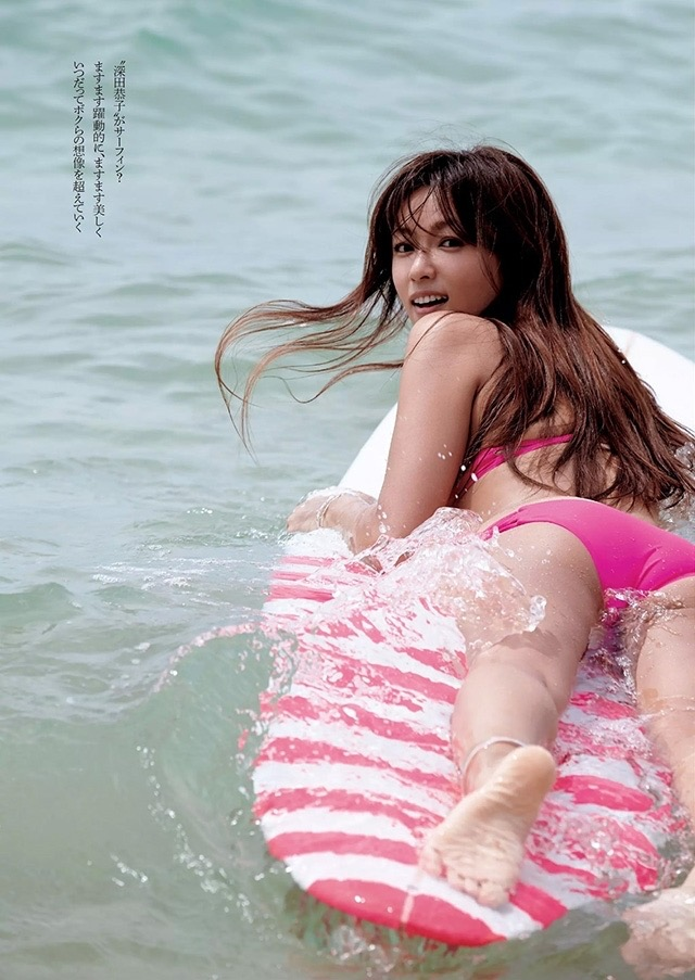 【深田恭子セクシー画像】三十路を越えて色気ある身体がソソる美人女優! 37