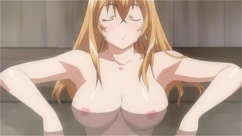 【アニメキャプ画像】アニメ美少女たちのエロくて美味しそうな乳首w 48