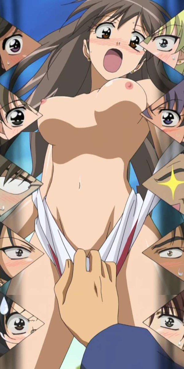 【アニメキャプ画像】アニメ美少女たちのエロくて美味しそうな乳首w 49
