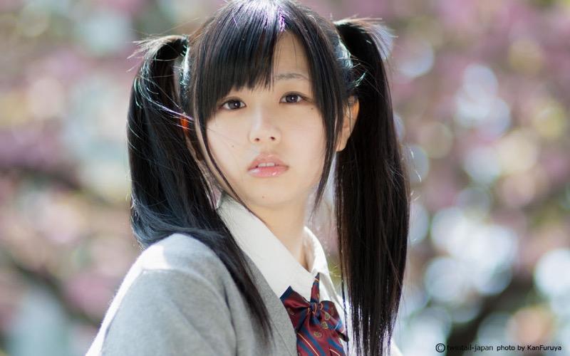 【ツインテール美少女画像】様々な形のツインテールが似合う美少女タレントたち