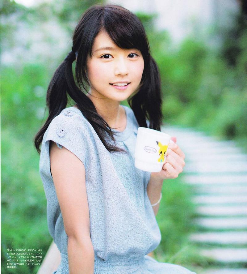 【ツインテール美少女画像】様々な形のツインテールが似合う美少女タレントたち 42