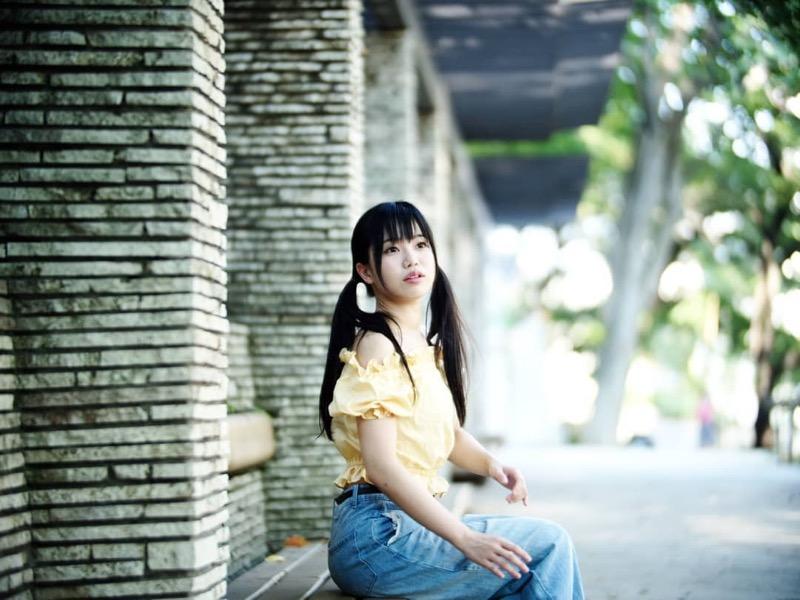 【黒崎れおんアイドル画像】ツインテールが良く似合う童顔萌え娘のコスプレ&水着姿 15