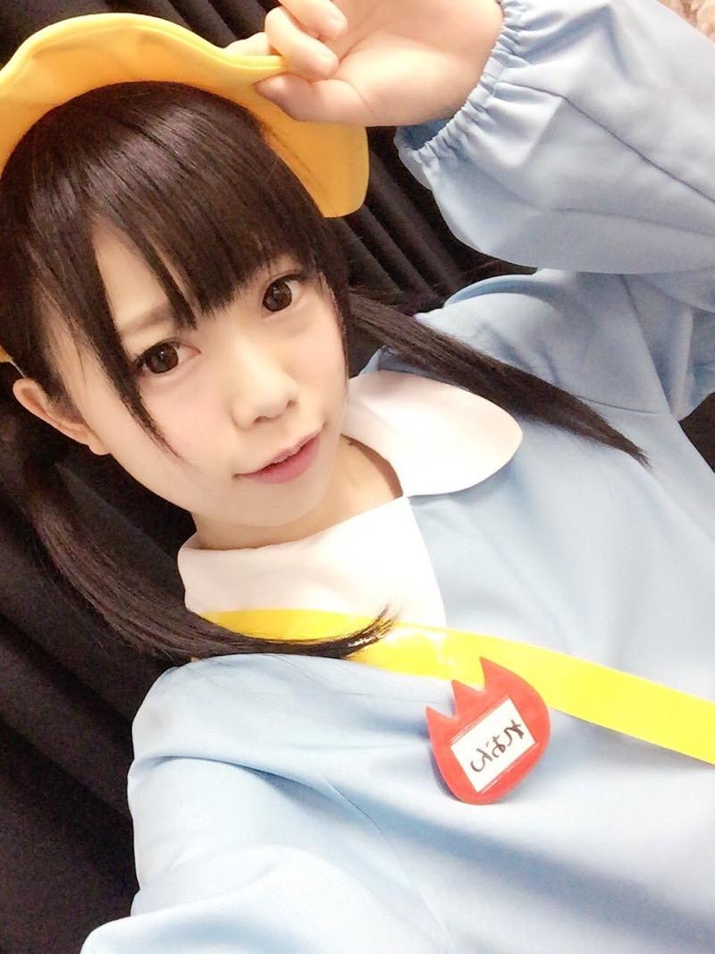 【黒崎れおんアイドル画像】ツインテールが良く似合う童顔萌え娘のコスプレ&水着姿 23