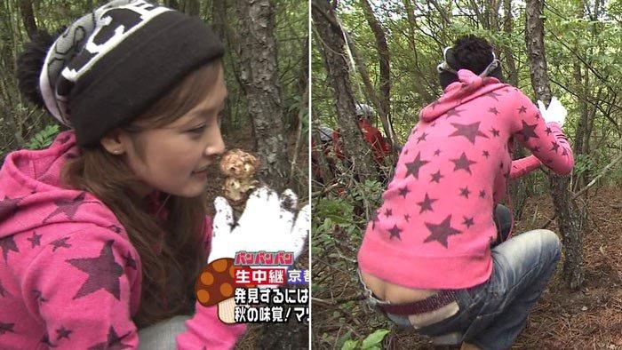 【女子アナハプニング画像】番組中を襲った女子アナたちのエッチなハプニングの瞬間 08