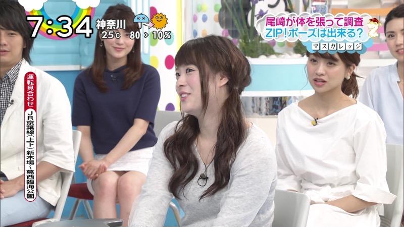 【女子アナハプニング画像】番組中を襲った女子アナたちのエッチなハプニングの瞬間 31