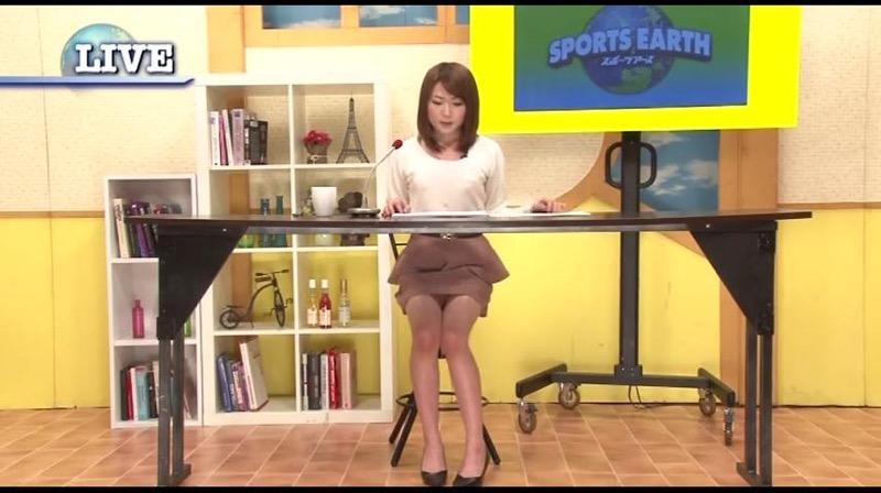 【女子アナハプニング画像】番組中を襲った女子アナたちのエッチなハプニングの瞬間 75