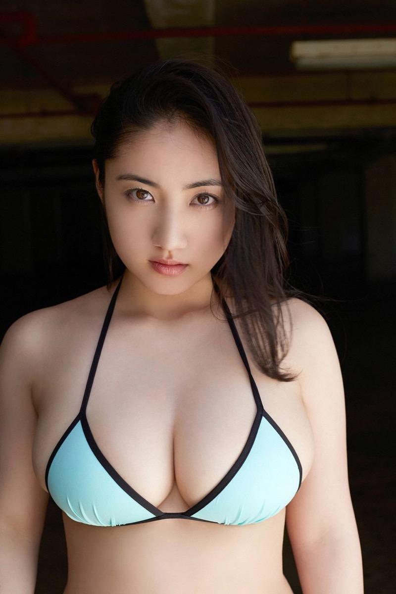 【紗綾グラビア画像】ジュニア時代から活躍した巨乳ボディがエロい水着美女 43