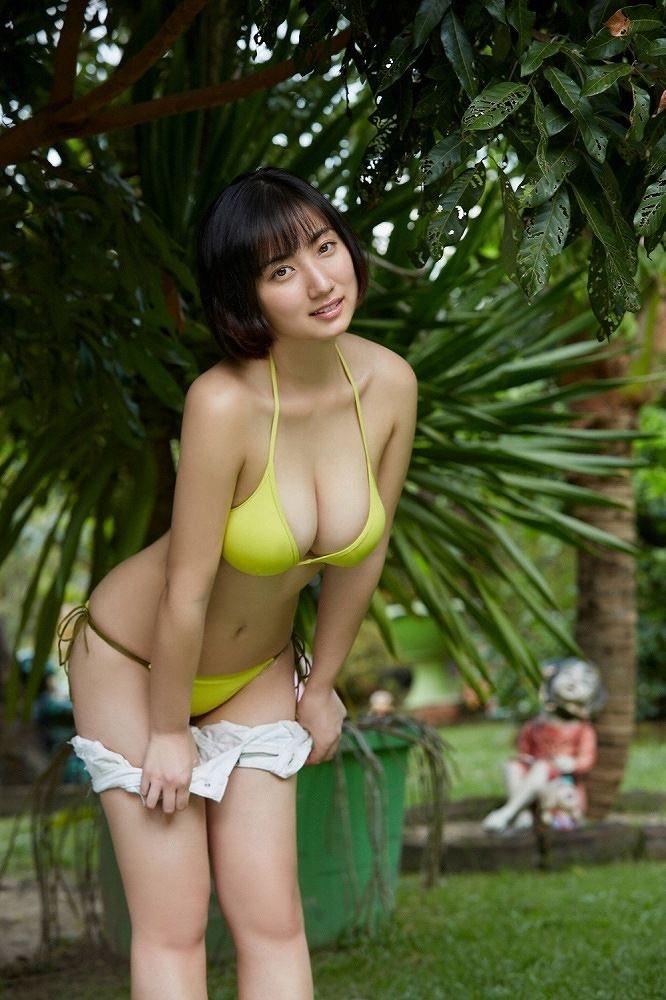 【紗綾グラビア画像】ジュニア時代から活躍した巨乳ボディがエロい水着美女 45