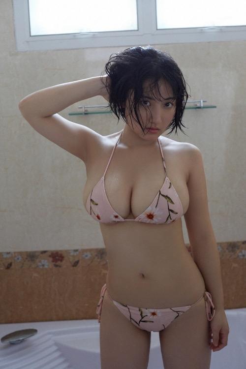 【紗綾グラビア画像】ジュニア時代から活躍した巨乳ボディがエロい水着美女 66