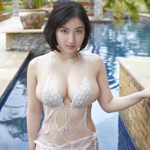 【紗綾グラビア画像】ジュニア時代から活躍した巨乳ボディがエロい水着美女 68