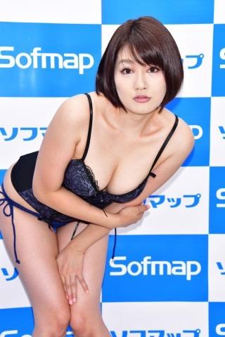 【多田あさみグラビア画像】猫大好きなFカップ巨乳グラドル美女の水着画像 08