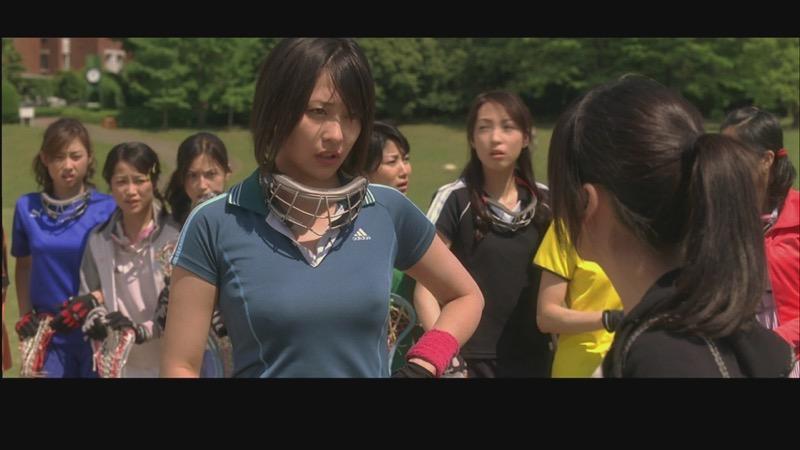 【放送事故エロ画像】テレビに映ったラッキースケベ的なハプニングエロ画像 10