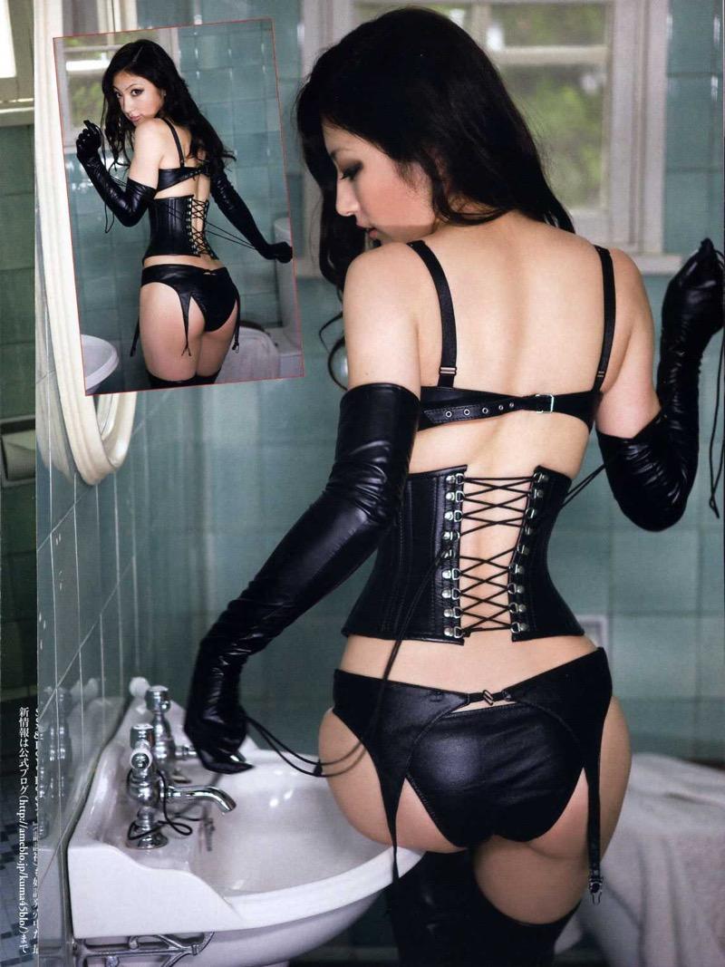 【ボンデージエロ画像】美女が身に付けたボンデージ姿がソソるエロ画像 55