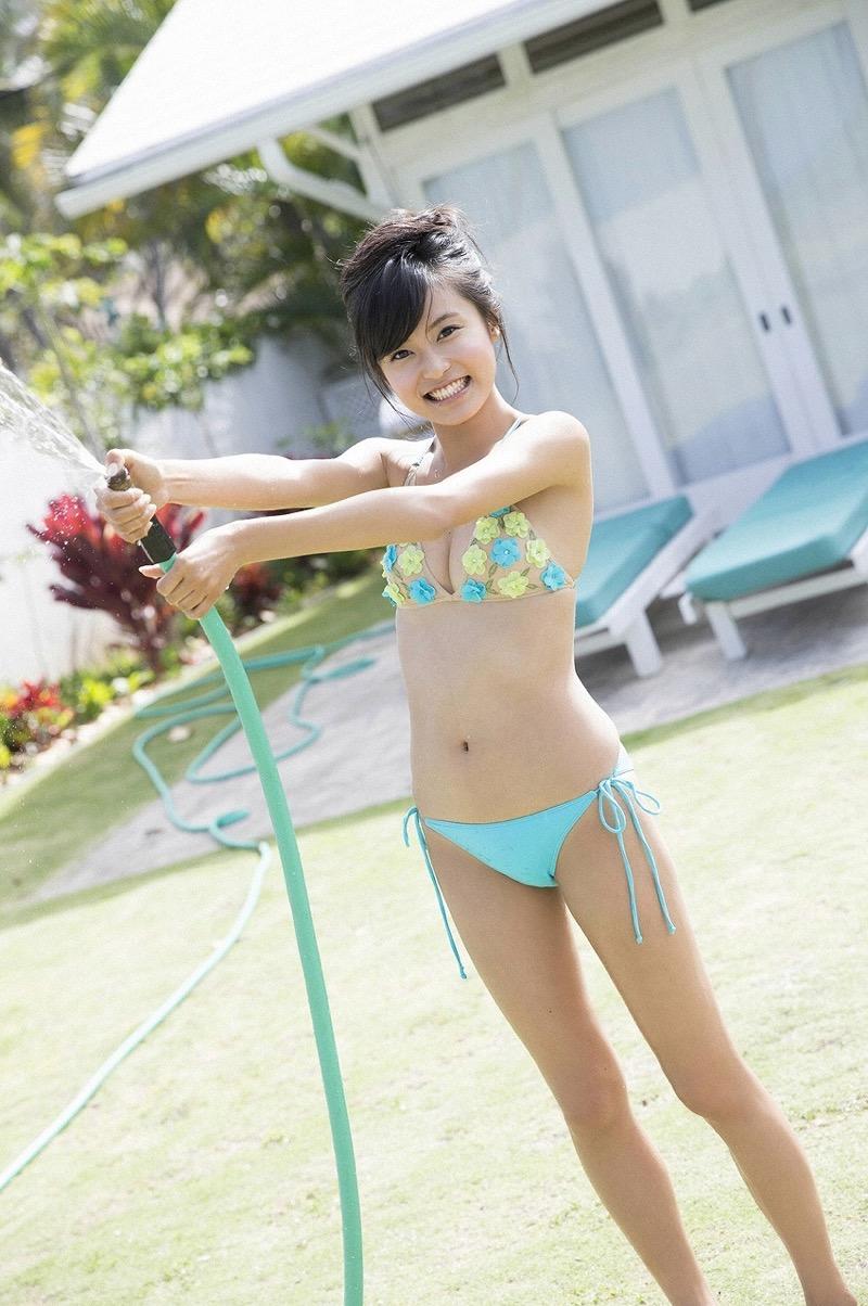 【小島瑠璃子グラビア画像】Eカップ巨乳ビキニボディがエロい美人タレント 57