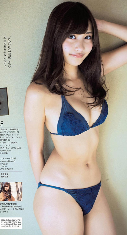 【タレントお宝画像】テレビで普段は脱がないタレント美女のエロビキニ姿! 10