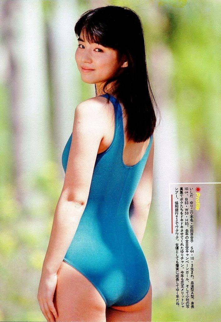 【石田ゆり子お宝画像】芸歴30年の大ベテラン女優が昔披露していたちょっとエッチな水着姿 49