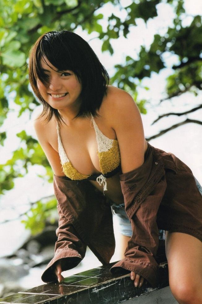 【江川有未グラビア画像】お笑い芸人と離婚してから芸能界を去った元嫁ザリのセクシー水着画像 18