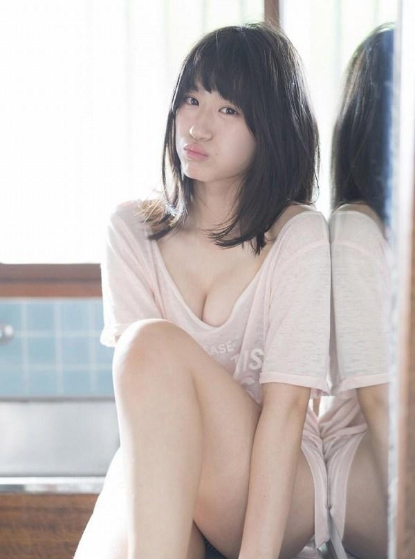 【上西怜グラビア画像】姉もかつてNMB48に所属していた5期生メンバーの現役アイドル 42
