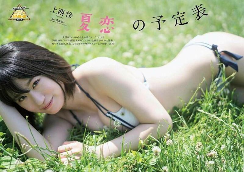 【上西怜グラビア画像】姉もかつてNMB48に所属していた5期生メンバーの現役アイドル 74