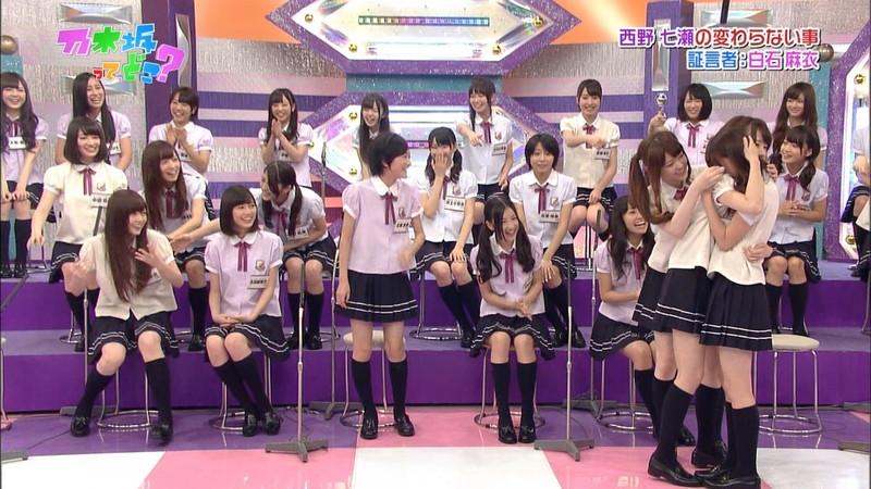 【放送事故画像】乃木坂46アイドルがひな壇でパンチラしそうになった瞬間がこちら 28