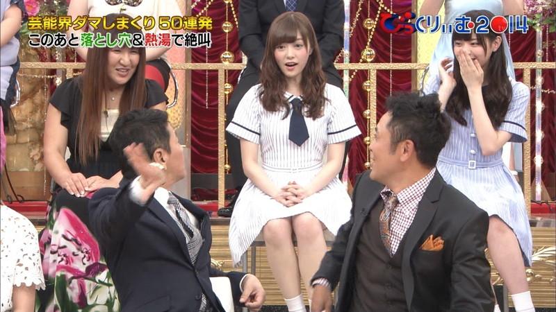 【放送事故画像】乃木坂46アイドルがひな壇でパンチラしそうになった瞬間がこちら 69