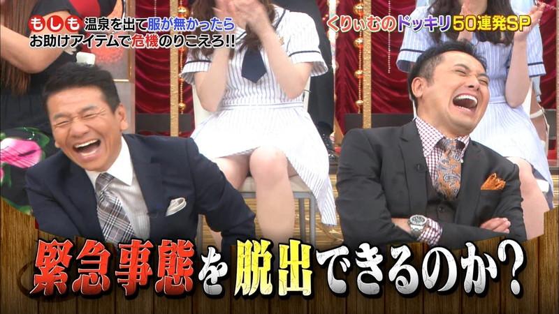 【放送事故画像】乃木坂46アイドルがひな壇でパンチラしそうになった瞬間がこちら 73