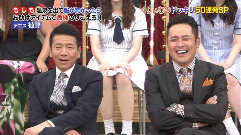 【放送事故画像】乃木坂46アイドルがひな壇でパンチラしそうになった瞬間がこちら 74