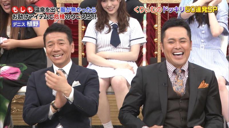 【放送事故画像】乃木坂46アイドルがひな壇でパンチラしそうになった瞬間がこちら 75