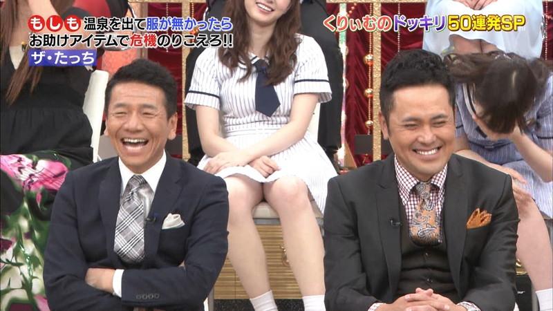 【放送事故画像】乃木坂46アイドルがひな壇でパンチラしそうになった瞬間がこちら 78