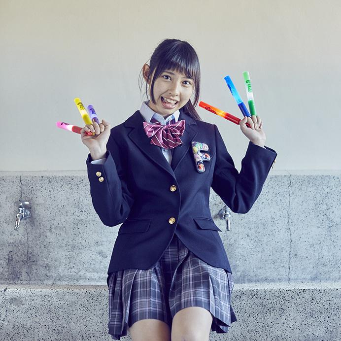 【沖口優奈エロ画像】アイドルグループでリーダーやってる谷間がエロい女の子 45