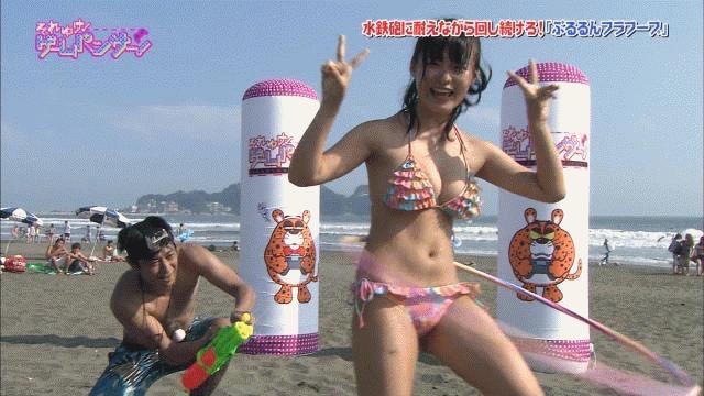【セクシー女優ハプニング画像】もはや放送事故が当たり前という感じのエロ放送w 07