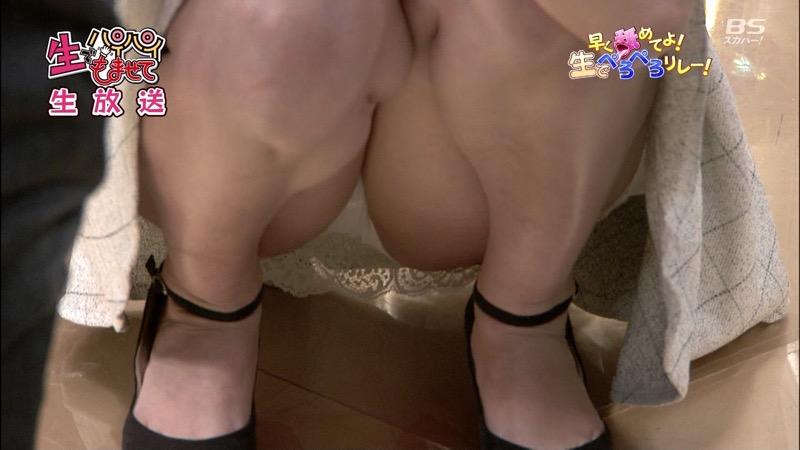 【セクシー女優ハプニング画像】もはや放送事故が当たり前という感じのエロ放送w 76