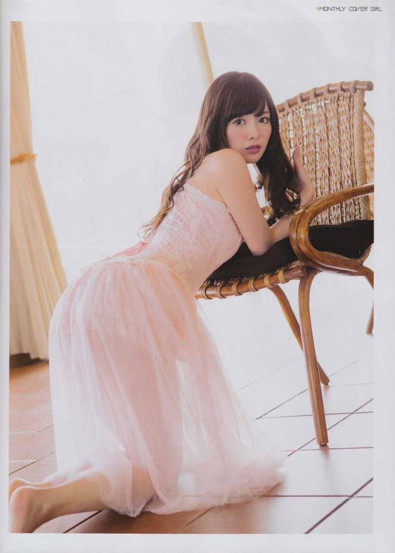 【白石麻衣グラビア画像】ファッションモデルならではの綺麗でエロい下着姿でチンコ勃ったw 15
