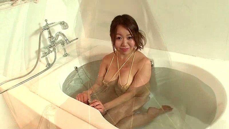 【吉沢さりぃキャプ画像】自らを底辺グラドルとして売り込んでいるド迫力Kカップグラドル 54