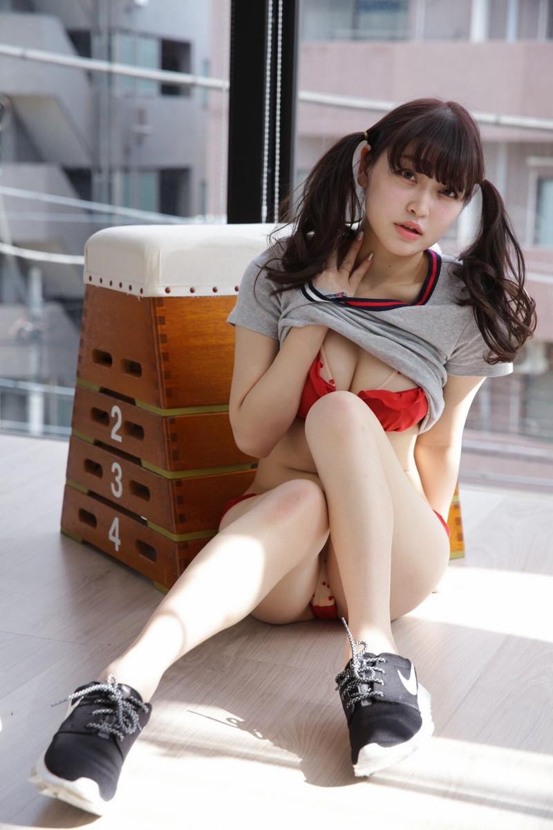 【悠木ゆうかグラビア画像】綺麗なEカップ巨乳をSNSで見せつけてファン勃起しまくりwwww 50