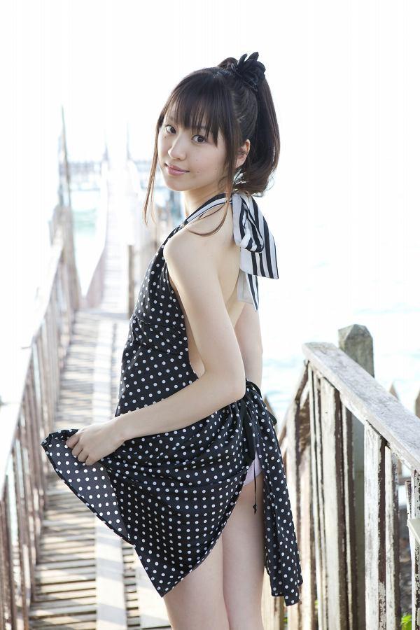 【船岡咲グラビア画像】国民的美少女出身女優がくっそエロいDVDを発売したってマ? 63