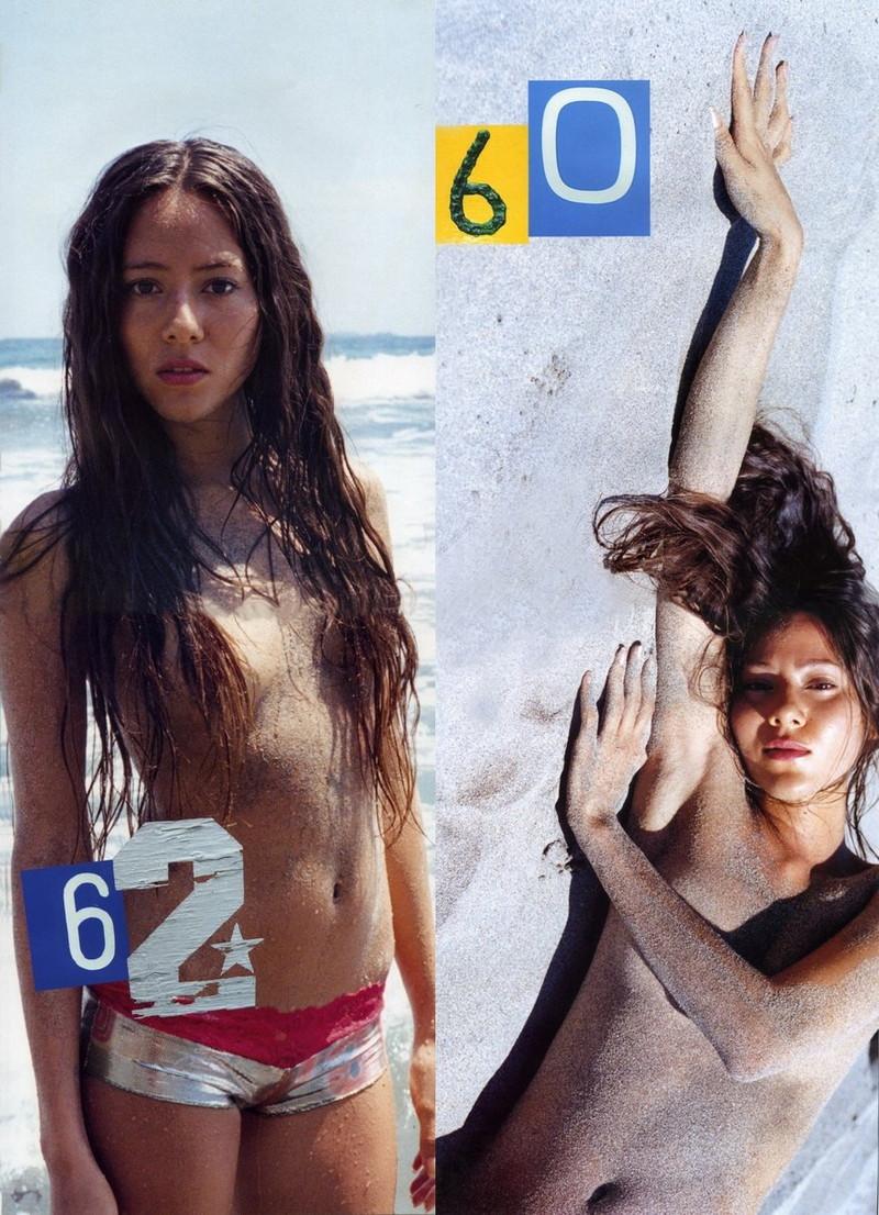 【道端姉妹エロ画像】ハーフ美人が3姉妹揃ってファッションモデルのエリートって凄いなw 54