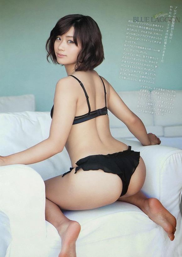 【グラドルお尻エロ画像】巨尻や美尻とヒップラインがエロいグラビア美女 12