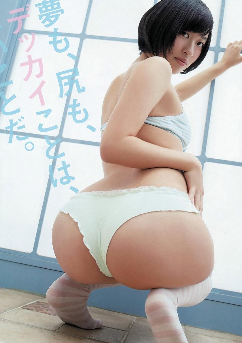 【グラドルお尻エロ画像】巨尻や美尻とヒップラインがエロいグラビア美女 35