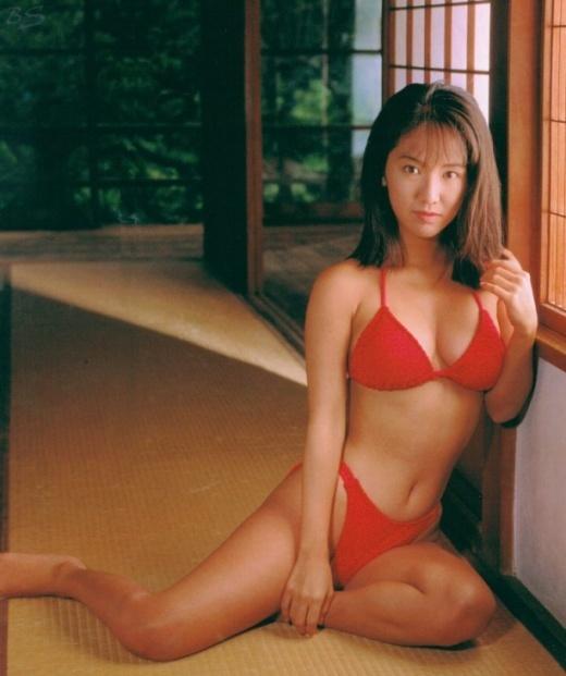 【坂木優子グラビア画像】FカップボディでハイレグTバックと男心をくすぐられるねぇ! 18