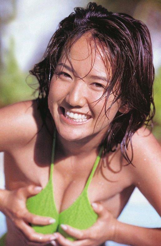 【坂木優子グラビア画像】FカップボディでハイレグTバックと男心をくすぐられるねぇ! 22