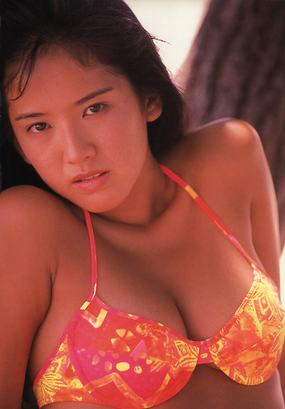 【坂木優子グラビア画像】FカップボディでハイレグTバックと男心をくすぐられるねぇ! 26