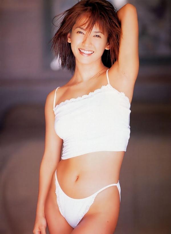 【坂木優子グラビア画像】FカップボディでハイレグTバックと男心をくすぐられるねぇ! 44